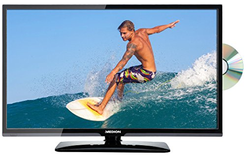 "MEDION LIFE P12291 MD 21411 69,9cm 27,5"" Zoll LED-Backlight-TV, HD, HD Triple-Tuner DVB-T2 DVB-C DVB-S2, DVD-Player, Mediaplayer, EEK: A, schwarz"