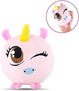 HAS Slow Rising Plush Squishy Toys Squishy Stuffed Animals Super Soft Squishamals Squishy Foamed Stuffed Animal (Pink)
