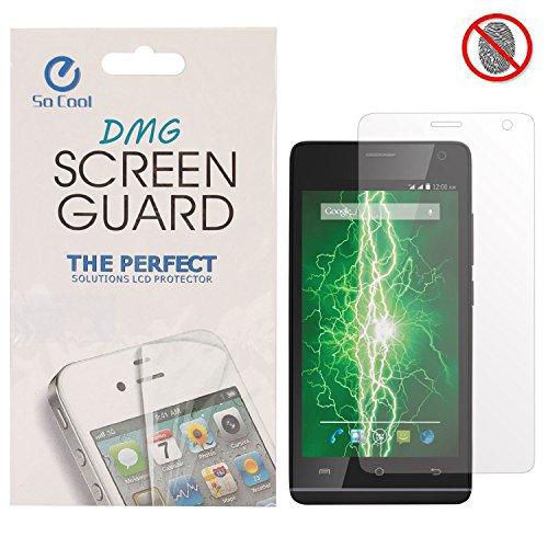 DMG SoCool Screen Protector for Lava Iris Alfa L (Pack of 2 Matte Anti Glare Anti Fingerprint Scratch Guard)