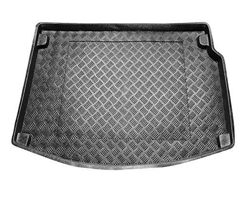 Protector Maletero PVC Compatible con Renault Megane III Hatchback 3 y 5 Puertas (2008-2016) + Regalo | Alfombrilla Maletero Coche Accesorios | Ideal para Perro Mascotas