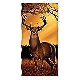 Whitetail Deer 100% Cotton Beach/Shower Towel