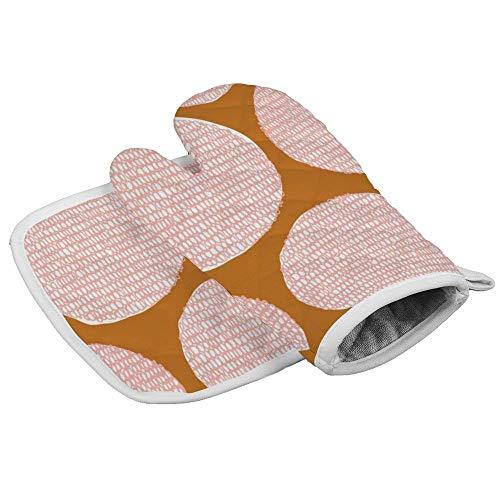 hgdfhfgd Manopla y agarradera para horno (juegos de 2 piezas), diseño de rayas de árbol, guantes y soporte para ollas, guantes de horno orgánicos, resistentes al calor, antideslizantes con textura