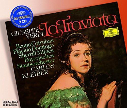 Ileana Cotrubas, Plácido Domingo, Sherrill Milnes, Stefania Malagu, Bavarian State Orchestra, Carlos Kleiber & Giuseppe Verdi