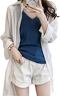 Best white cheesecloth shirt womens Reviews