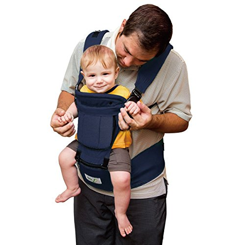 BABY STEPS Baby Carrier Hip Seat Ergonomic 6in1 Soft Carrier hipseat for All Seasons Adjustable Waistband 6 Comfortable amp Safe Positions Perfect for Alone Nursing from Infant to Toddlers