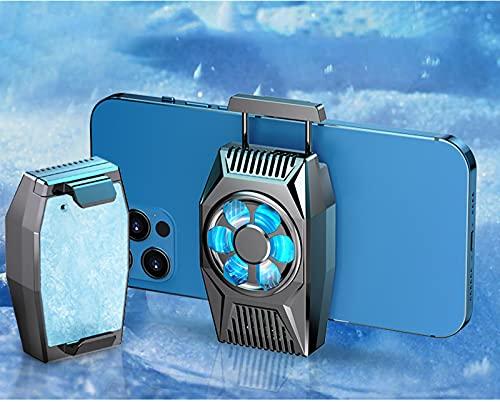 Radiador de teléfono móvil - Enfriador de teléfono celular Semiconductor para juegos y transmisión en vivo, para iPhone de 2.5 a 3.5 pulgadas Gaming Phone