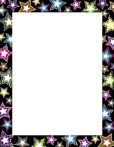 Teacher Created Resources Fancy Stars Computer Paper (5262)