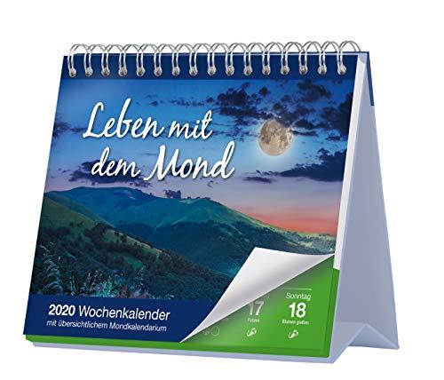 Preisvergleich Produktbild Leben mit dem Mond 2020: Wochenkalender mit übersichtlichem Mondkalendarium