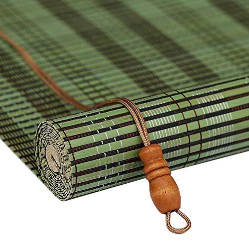 Jiayuan rolluiken, rolluiken, voor tuin, terras, balkon, zonnefilter, 45 cm / 65 cm / 85 cm / 105 cm / 125 cm / 135 cm breedte