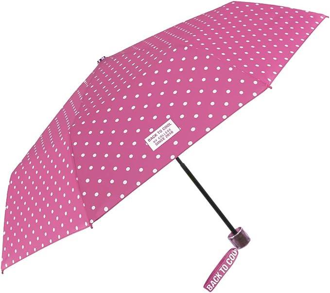 Paraguas de bolsillo dise/ño de lunares Esprit Easymatic Light Moon Dots