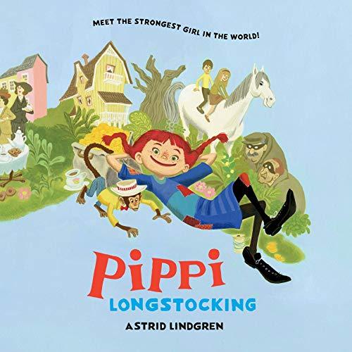 Pippi Longstocking cover art