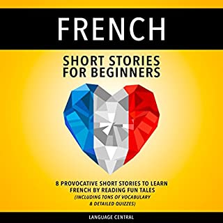 French Short Stories for Beginners cover art