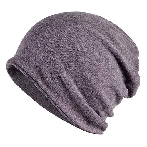 Goddness Bar Bonnet de Sommeil élégant Beanie Hat Scarf Casquette Polyvalente pour Le Plein air, Le Cyclisme, Les Cheveux crépus (A28)