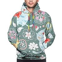 フード付きパーカー 水彩画 絵画 長袖 パーカー ト軽くて通気性 セーター メンズ 面白 秋 春 カジュアル服