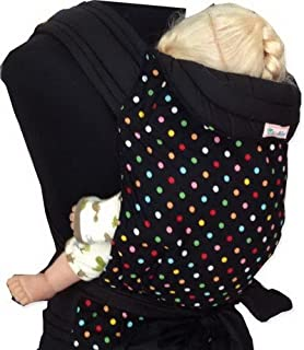 8bf833e1d9a MEI TAI Baby Sling Carrier   Small Dot on Black Print