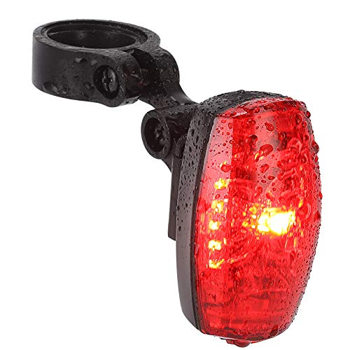 KANAV Bicycle Tail Light, StVZO Approved, Bicycle Light with IPX4 Waterproof, 220 Degree Wide Angle Vision for Cycling, Camping etc