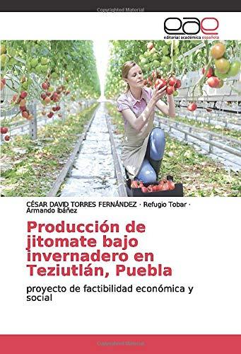Producción de jitomate bajo invernadero en Teziutlán, Puebla: proyecto de factibilidad económica y social