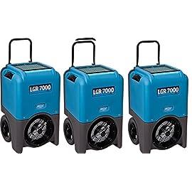 Dri-Eaz LGR 7000XLi 29-gallon Compact Portable Refrigerant Dehumidifier (3 Dehumidifier's) 4