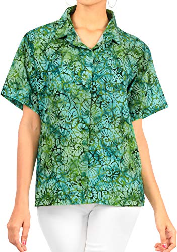 Happy BAY Dames-Hawaii-party blouse badmode shirt zwemmen