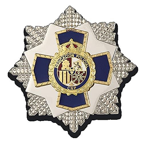 09215 - Placa a la dedicacion policial 35 años