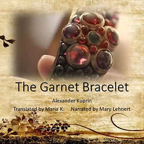 The Garnet Bracelet audiobook cover art