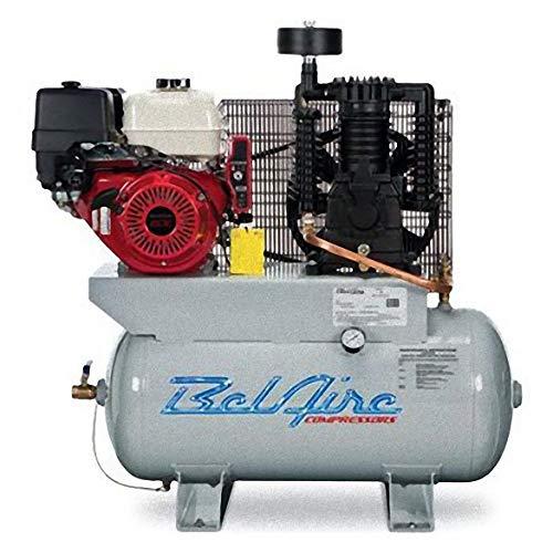 BelAire 3G3HHL 13 HP 30 Gallon Gas Driven Honda Engine Horizontal Compressor