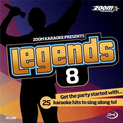 Zoom Karaoke CD+G - Legends Volume 8 - Beatles/Rolling Stones/Small Faces/Animals/Troggs [Card Wallet]