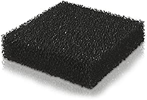 Juwel Aquarium 88059 BioCarb Svamp med Aktivt Kol, M, Svart