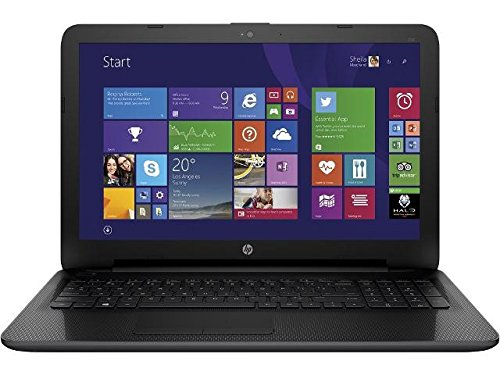 "HP 255 G4 - Portátil de 15.6"" (AMD E1-6015, 4 GB de RAM, HDD de 500 GB, Windows 10) negro - teclado QWERTY español"