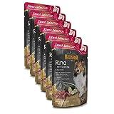 BELCANDO Ternera y noodles con calabacín comida húmeda para perros (Bolsitas)