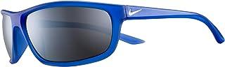 نظارة رابيد الشمسية للرجال من نايك، لون رمادي، 64 ملم - EV1109