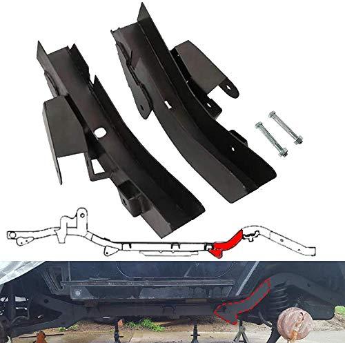 NIXFACE Rear Set Trail Control Arm Frame Rust Repair Kit for 1997-2006 Jeep Wrangler TJ …