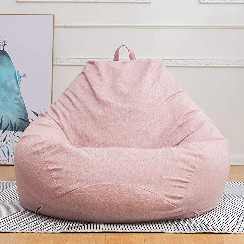 MWPO Chair Covers Bean Bag Chair Sofa Cover Without Filler, Lazy Lounger Bean Bag Storage Chair Cover for Adults and Kids, Indoor and Outdoor Use