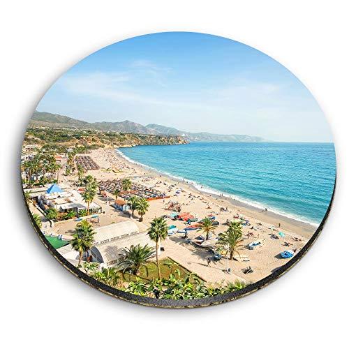 Destination Vinyl ltd Impresionantes imanes redondos MDF - Nerja Málaga Costa del...