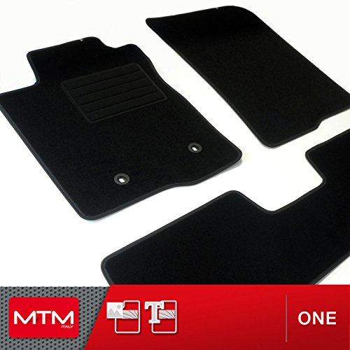 MTM Alfombrillas para Corolla Verso Desde 06.2004-02.2009, a Medida en Velour Antideslizante One cod. 3511