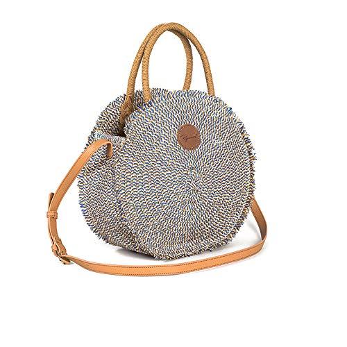 Rip Curl Navy Beach Round Handbag One Size Blue