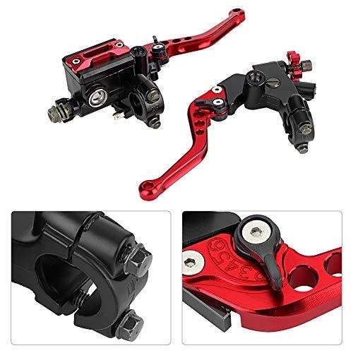1 Paar Motorrad Brems- und Kupplungshebel Universal Bremskupplung Hauptbremszylinder Behälter 7/8