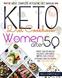 KETO DIET COOKBOOK FOR WOMEN AFTER 50: The Most Complete Ketogenic Diet Manual Reboot Your Metabolism And Boost Your Energy With 200 Affordable And Easy Recipes And A 21-Day Meal Plan