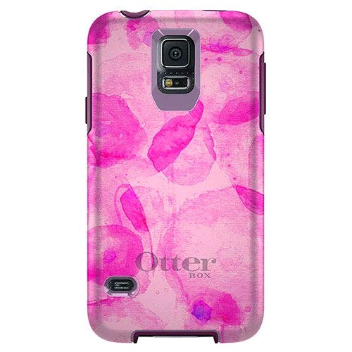 Otterbox Symmetry Series for Samsung Galaxy S5 - Retail Packaging (PINK/Poppy Petal)