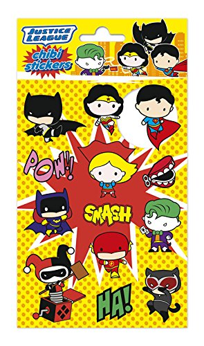 Erik Aufkleber - Sticker DC Comics Chibi