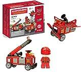 Magformers 717003 Set de rescate para bomberos, multicolorMagformers 717003 Set de rescate para bomberos, multicolor , color/modelo surtido
