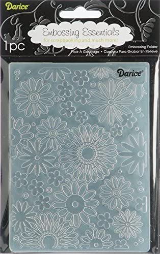 Darice Embossing Folder Scroll Background 4.25 X 5.75 Inches