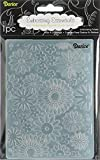 Darice Embossing Folder, 4.25 by 5.75-Inch, Flower Frenzy Background, 1 pack...