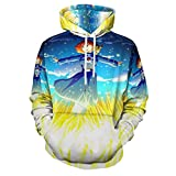 3D Printed Costume Coat Fashion Sweatshirts Unisex Hooded Pullover Nausicaa of The Valley of The Wind Casual Hoodies XL