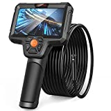 DEPSTECH Dual Lens Endoskopkamera, 1080P Endoskop, 5' IPS Bildschirm, 7,9mm Inspektionskamera mit...