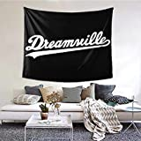 J. Cole Dreamville Decorative Wall Blanket Tapestries for Bedroom Living Room Dorm Decor 60' X 51'Inches Indoor Tapestries Vertical Version