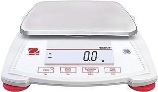 Ohaus SPX6201 Scout Analytical Balance, 6200 g x 0.1 g (30253027)