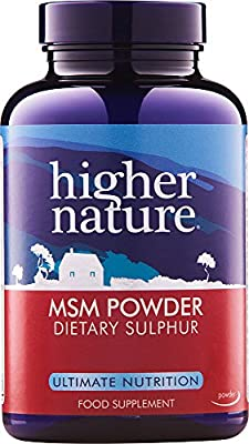 Higher Nature MSM Crystals 200gram by Higher Nature