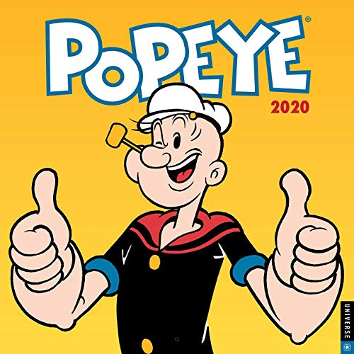 King Features a Unit of Hearst: Popeye 2020 Square Wall Cale