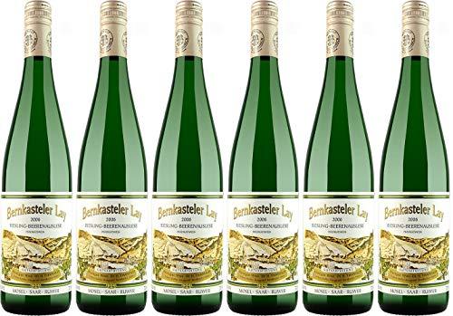 Witwe Dr. H. Thanisch, Erben Müller-Burggraef Bernkasteler Lay Riesling Beerenauslese 0,75L Stelvin 2006 Edelsüß (6 x 0.75 l)